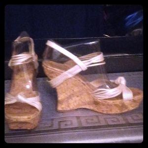 Beautiful bone strapped sandles